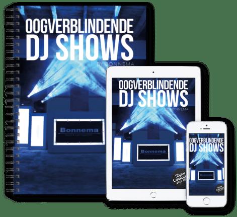 Ontvang onze catalogus en prijslijst direct in uw mailbox. Bonnema DJ shows.