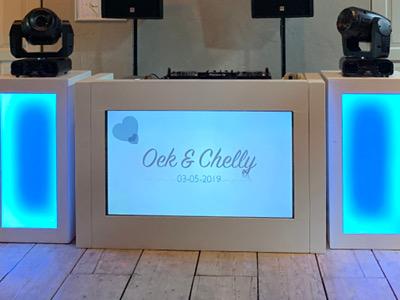 Eigen ontwerp TV DJ Booth