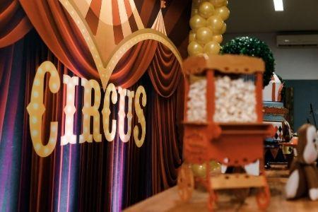 Themafeest idee circus