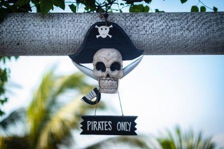 Themafeest idee piraten