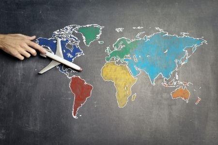 Themafeest idee wereldwijd
